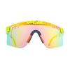 Gafas Pit Viper Doble Áncho Reflectantes Arco Iris