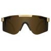 Gafas Pit Viper The Gold Standar Doble Áncha Polarizadas