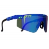 Gafas Pit Viper The Leonardo 2000 lentes Polarizadas Azul Revo Reflectantes Z87