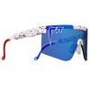 Gafas Pit Viper The Merika 2000 lentes Polarizadas Azul Revo Reflectantes