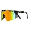 Gafas Pit Viper Monster Bull 2000 Reflectantes Z87 Anti Vaho Arco Iris