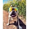 Gafas Pit Viper Monster Bull Doble Áncho Polarizadas Reflectantes Naranja Revo