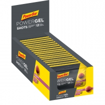 PowerBar PowerGel Shots Raspberry 16u. 60gr
