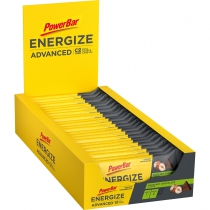 BARRITA POWERBAR ENERGIZE ADVANCED CHOCO AVELLANA 25 UNIDADES
