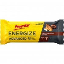 BARRITA POWERBAR ENERGIZE ADVANCED MOCCA ALMENDRA 25 UNIDADES