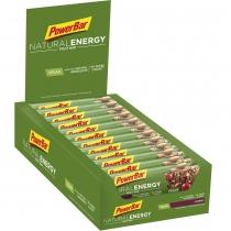 PowerBar Natural Energy Fruit Cranberry  24 barritas *40gr