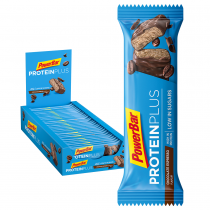 BARRITA POWERBAR PROTEINPLUS LOW SUGAR CHOCOLATE ESPRESSO 30 UNIDADES