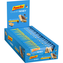 BARRITA POWERBAR CLEAN WHEY COOKIES CREMA 18 UNIDADES