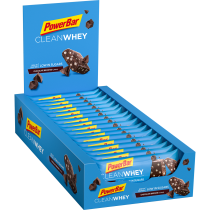 BARRITA POWERBAR CLEAN WHEY CHOCOLATE BROWNIE 18 UNIDADES