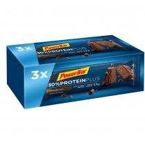 Multipack Barritas PowerBar ProteinPlus 30% Chocolate 27 unidades