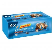 Multipack Barritas PowerBar Protein Nut2 Leche Chocolate Cacahuete 40 unidades
