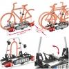 Portabicicletas Plegable Uebler i21 para 2 Bicicletas 60º