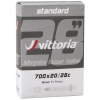 Cámara carretera Vittoria Standard 700x20 28c FV presta 80mm