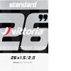 Cámara MTB Vittoria Standard 26x1.5/2.0 AV schrader 48mm