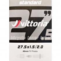 CÁMARA MTB VITTORIA STANDARD 27.5X1.5/2.0 FV PRESTA 48MM