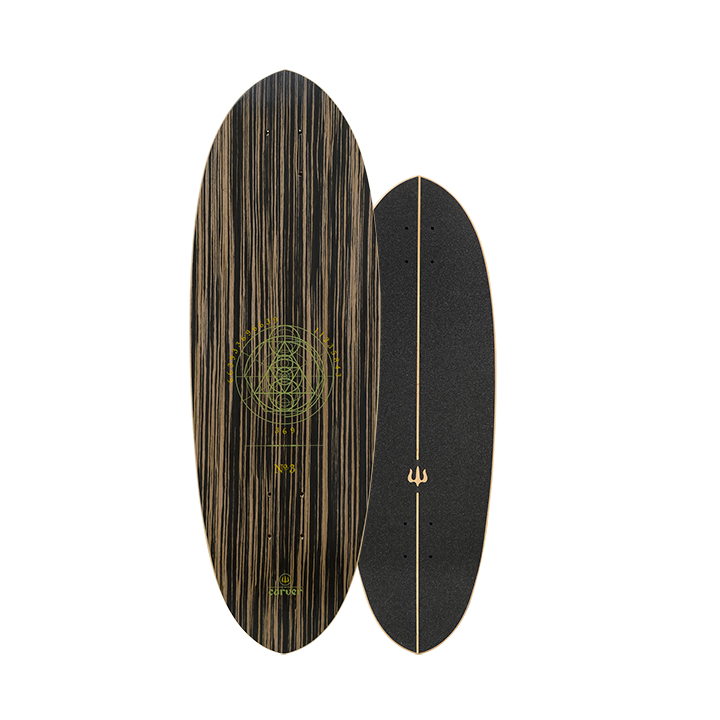 "30"" Deck Haedron No.3 with grip tape"
