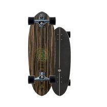 """SurfSkate Carver 30"""" Haedron Nº3 Con Ejes C7 Graphite"""