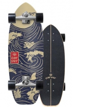 """SurfSkate Carver 28"""" Snapper Con Ejes CX Raw"""
