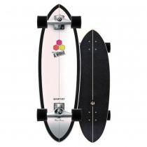"SurfSkate Carver 31.75"" CI Black Beauty Con Ejes CX Raw"