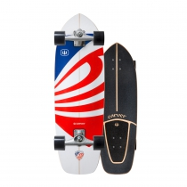 "SurfSkate Carver 30.75"" USA Booster Con Ejes CX Color Raw"