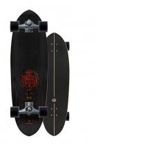 """SurfSkate Carver 33"""" Haedron Nº 6 Con Ejes CX Graphite"""