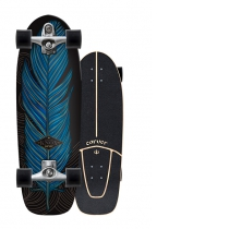 "SurfSkate Carver 31.25"" Knox Quill Con Ejes C7 Color Raw"