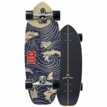 """SurfSkate Carver 28"""" Snapper Con Ejes C7 Raw"""