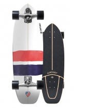 "SurfSkate Carver 32.25"" USA Thruster Con Ejes C7 Color Raw"
