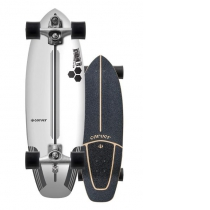 """SurfSkate Carver 30.75"""" CI Flyer Con Ejes C7 Raw"""