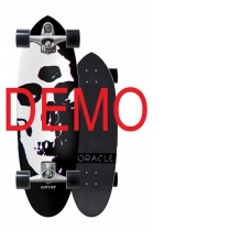 SurfSkate Carver Demo Oracle Con Ejes C7 Raw