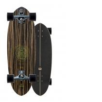 """SurfSkate Carver 30"""" Haedron Nº 3 Con Ejes C7 Graphite"""