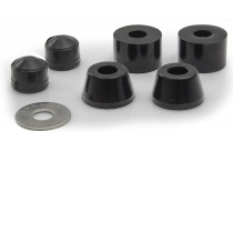 Carver C5/CX.4 Hard Black Bushing Set of 2 C5/CX.4 92A, 2pcs C4/C2 92A & SS Flat Washer
