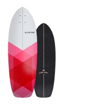 """30.25"""" Deck  Firefly With Grip Tape"""
