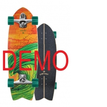 SurfSkate Carver Demo 29 Swallow Con Ejes C7 Raw