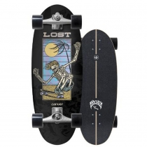 "SurfSkate Lost Carver 28"" Bean Bag Con Ejes CX Raw"