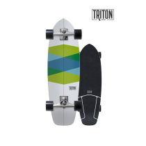 "SurfSkate Triton 32.5""Green Glass Con Ejes CX 6.0"