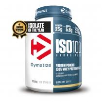 Proteína de suero de leche ISO100 BIRTHDAY CAKE 1 bote*2200gr DYMATIZE