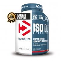 Proteína de suero de leche ISO100 STRAWBERRY BLAST 1 bote*2200gr DYMATIZE