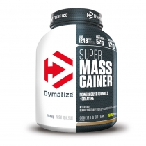 Ganador de peso SUPER MASS GAINER COOKIES & CREAM 1 bote*2943gr DYMATIZE