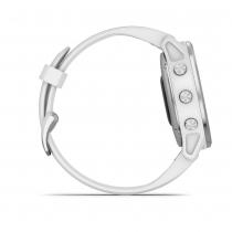 Fenix 6S Plata blanco con correa blanca