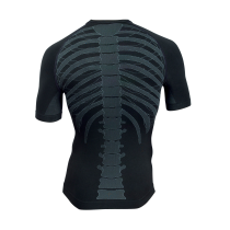 Camiseta Int. BODY FIT EVO m/c Negro