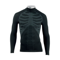 Camiseta Int. BODY FIT EVO m/l Negro
