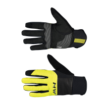 Guante NORTHWAVE POWER 3 Gel Pad Negro-Amarillo Fluo