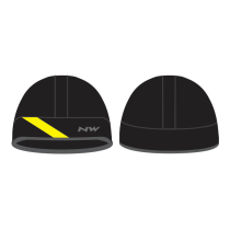 Gorro FAHRENHEIT Negro-Amarillo Fluo