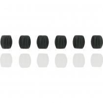 Mini protector cuadro bicicleta Negro ( 20 juegos de 6 piezas) JAGWIRE