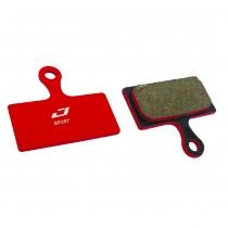 Pastillas de freno de bicicleta para Shimano XTR,XT,CX RS785 semi metálicas JAGWIRE (caja 20u)