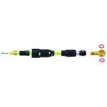 Adaptador para freno de bicicleta Quick-Fit compatible con Shimano XT/XTR Banjo JAGWIRE