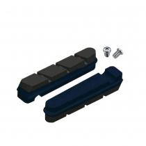 Recambio Pro S zapatas carretera para carbono SRAM/Shimano - Azul/Negro