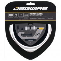 Kit sellado para cambio de bicicleta de carretera ELITE SRAM/Shimano Blanco JAGWIRE