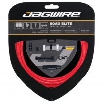 Kit sellado para cambio de bicicleta de carretera ELITE SRAM/Shimano Rojo JAGWIRE